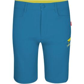 TROLLKIDS Haugesund Shorts Kids petrol/lime